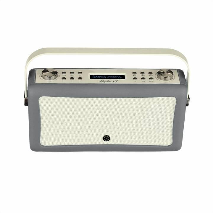 VIEW_QUEST Hepburn MkII Radio per cucina / -bagno (Grigio)
