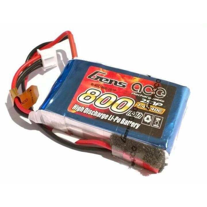 Batteria GENS ACE RC RC LiPo 800 mAh