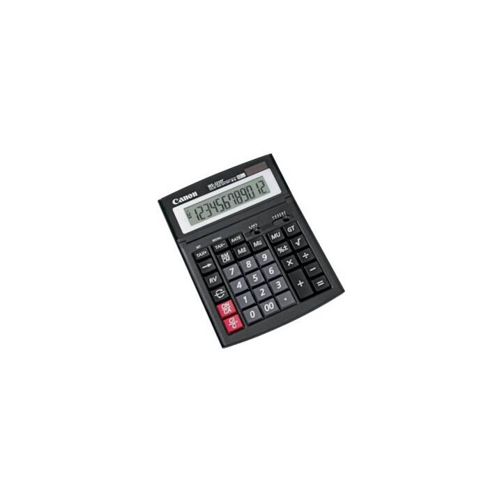 CANON WS-1210T Calcolatrici da tavolo (Funzionamento di batteria standard, Cellule solari)