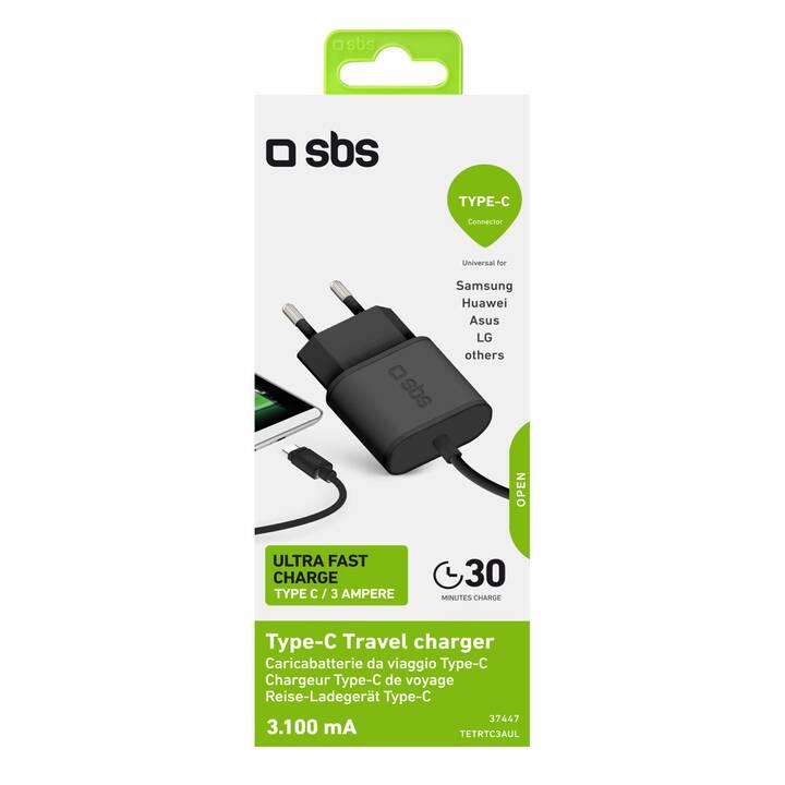 SBS Caricabatteria da parete (15 W, USB-C)
