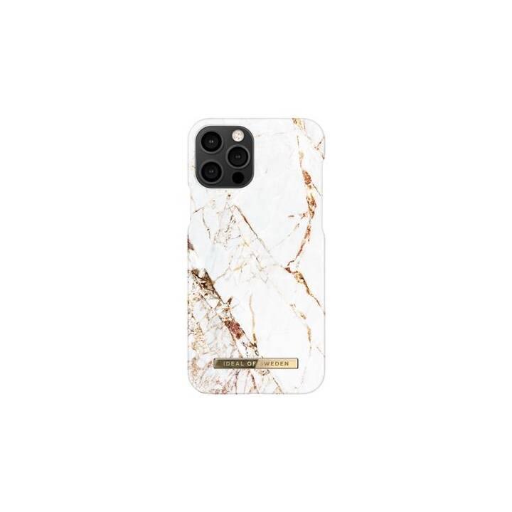 IDEAL OF SWEDEN Hardcase Carrara Gold (iPhone 12 Pro, iPhone 12, Oro)