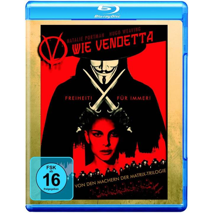 V wie Vendetta (ES, IT, DE, EN, FR)