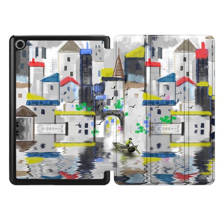 """EG MTT Coque pour HUAWEI MediaPad M5 Lite 10.1"""" 2018 - canvas landscape"""