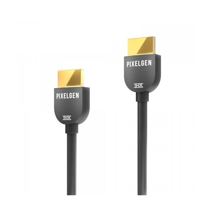 PIXELGEN PXL-CBH03 HDMI 2.0b, 18 GB/s, 0.3 m