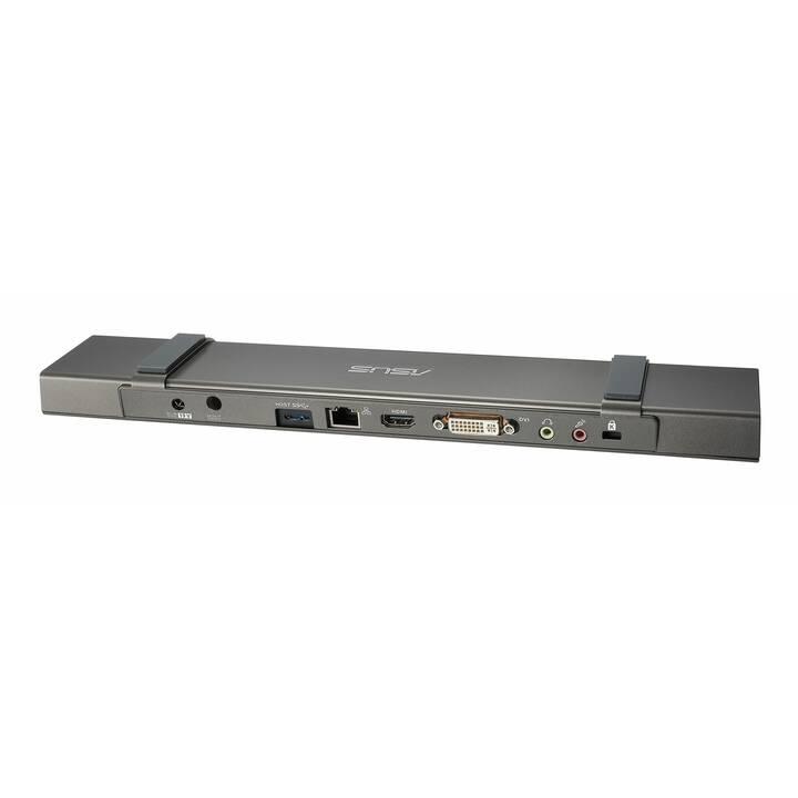 ASUS Stations d'accueil HZ-3A Plus (DVI-I, HDMI, 5 x USB 3.0)