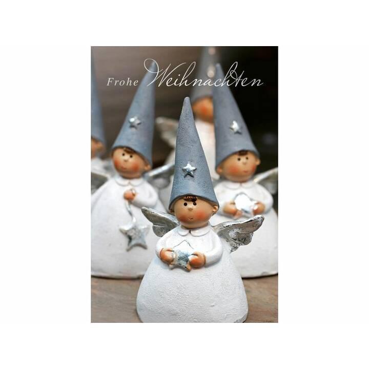 ABC Weihnachtskarte (Weihnachten / Advent, B6, Mehrfarbig)