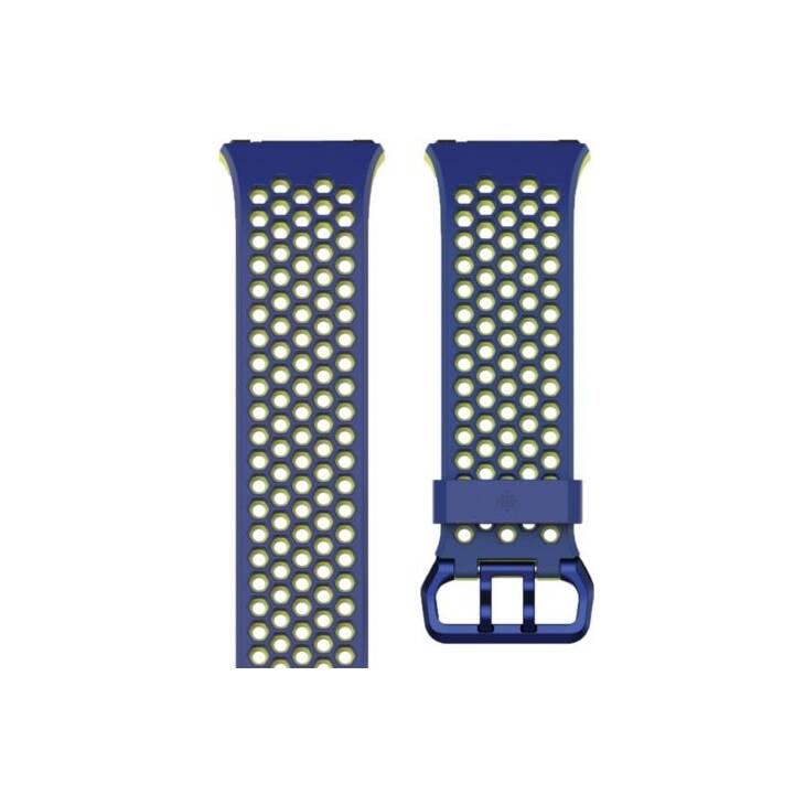 FITBIT Wechsel Sport Band Ionic Blue/Yellow S