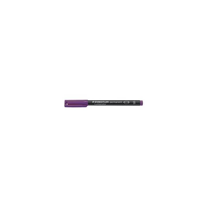 STAEDTLER Marqueur permanent Lumocolor, 0.4 mm, violet