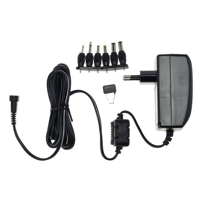 ALPHA ELETTRONICA Câble secteur (USB, 2 m, Noir)