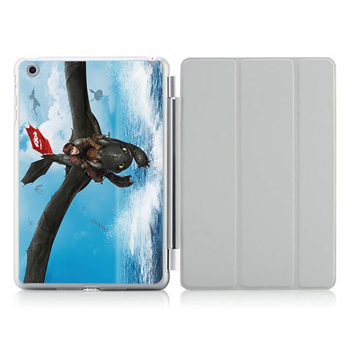 "EG iPad Hülle für Apple iPad 9.7 ""Air 1 - Cartoon Drachen"