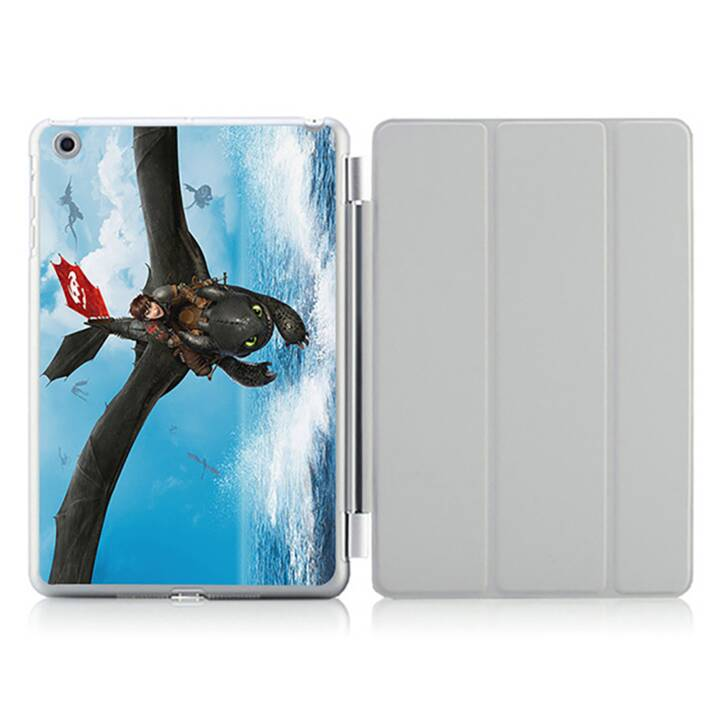 """EG iPad Hülle für Apple iPad 9.7 """"Air 2 - Cartoon Drache"""