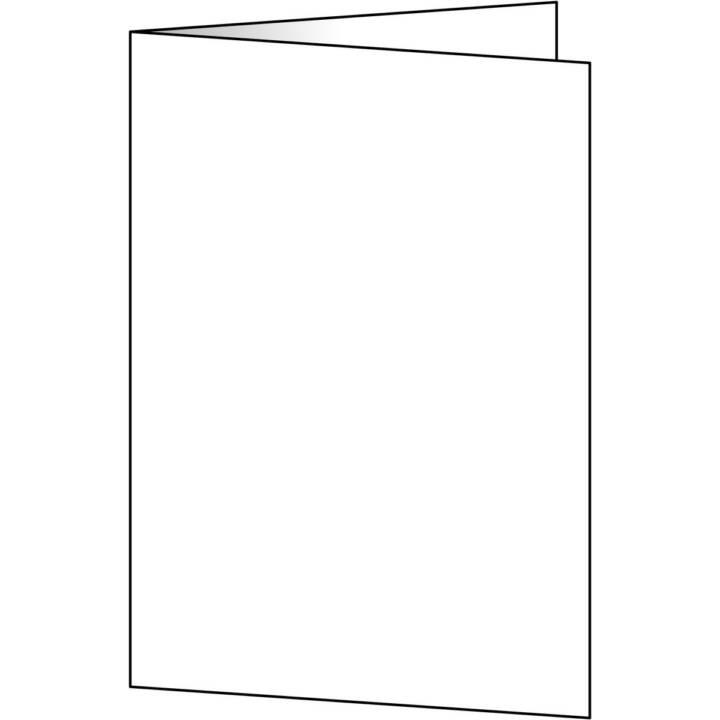 SIGEL Cartoncini pieghevoli in bianco A5, 50 pezzi