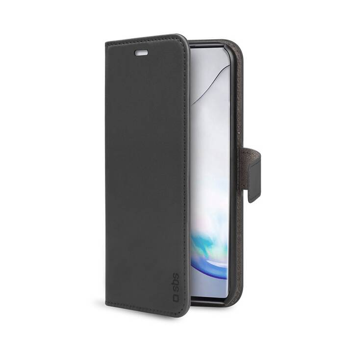 SBS Flipcover Book Case (Galaxy Note 10 lite, Schwarz)