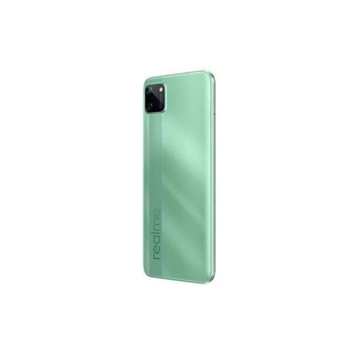 "REALME C11 (6.5"", 32 GB, 13 MP, Vert menthe)"