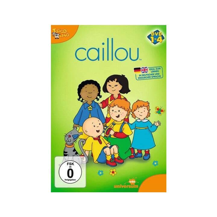 Caillou 1-4 (DE, EN)