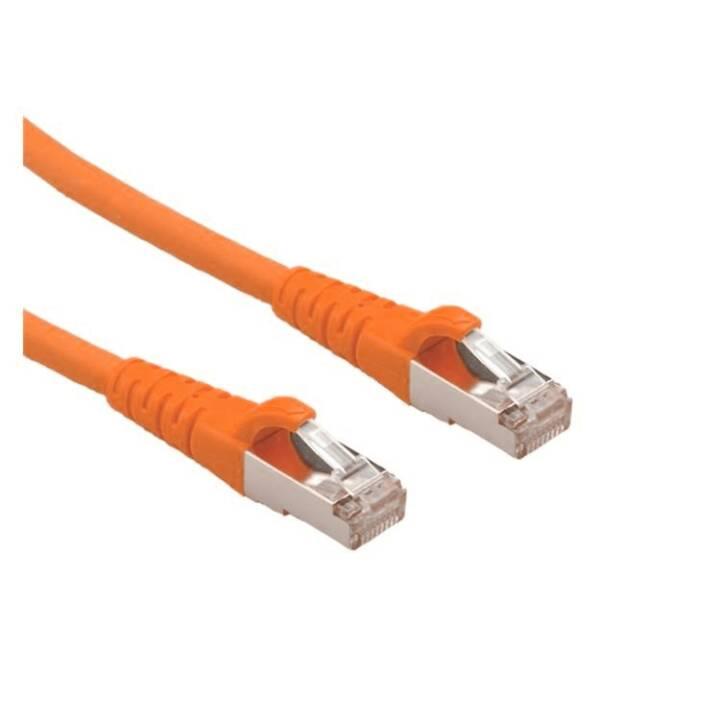 SECOMP Câble patch Roline - 7,5 m - Orange