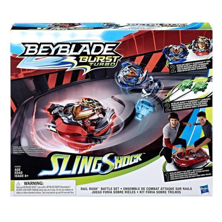 BEYBLADE Burst SlingShock Rail Rush Battle