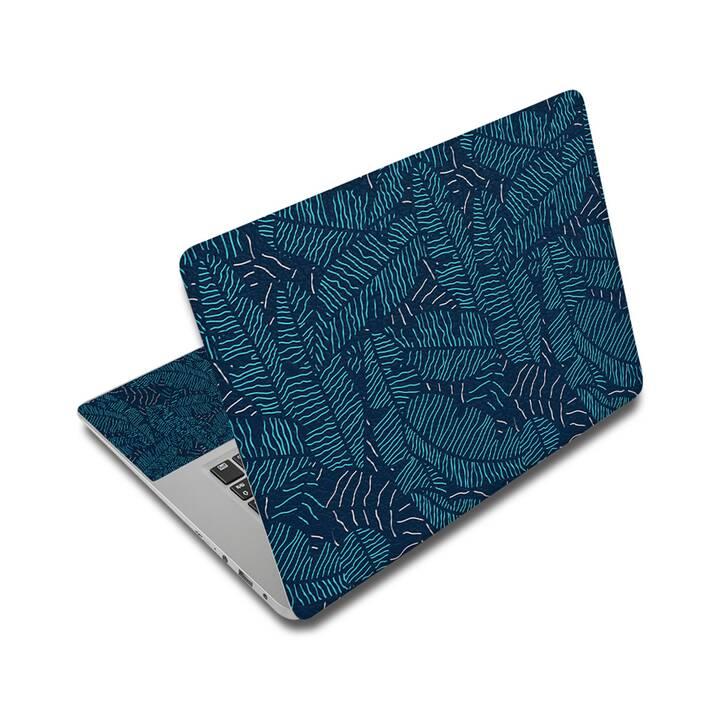 "EG adesivo per laptop 17"" - foglie"