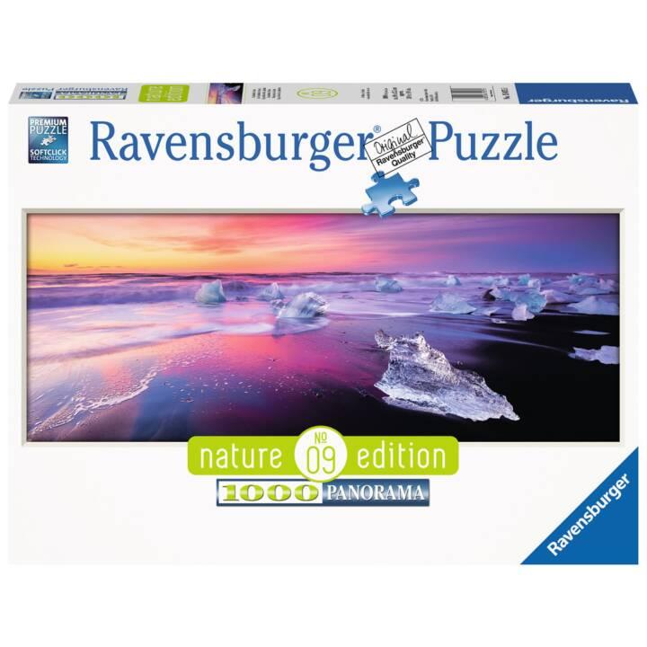 RAVENSBURGER Jökulsárlón Island Puzzle, 1000 Stk.