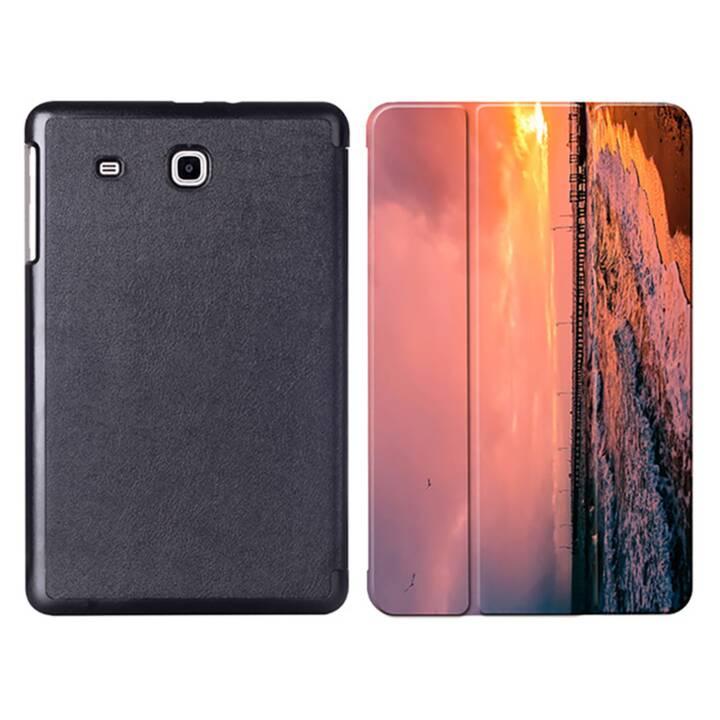 "EG MTT tablet bag con coperchio pieghevole per Samsung Galaxy Tab E 9.6"" - Sky"