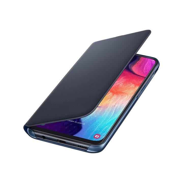 SAMSUNG Wallet Cover (Galaxy A50, noir)