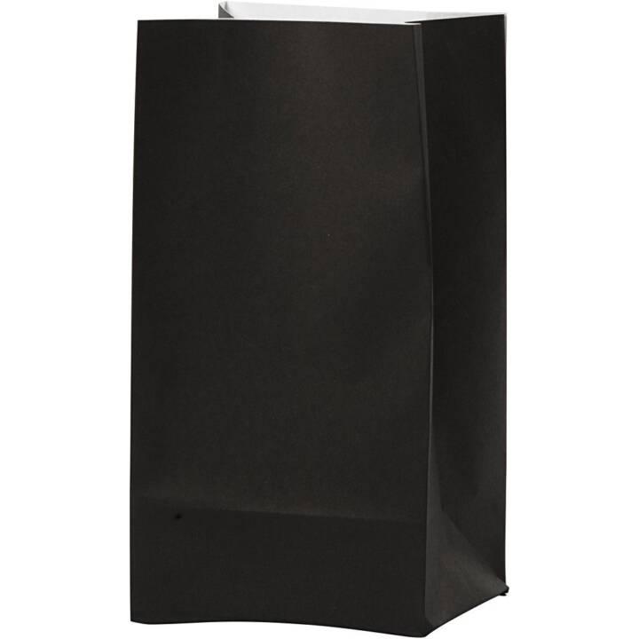 CREATIV COMPANY Sachet cadeau (Noir, Unicolore)