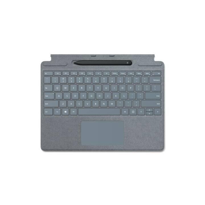 MICROSOFT Pro X Signature Keyboard Type Cover (Bleu)