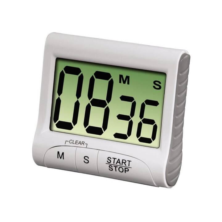 XAVAX Küchenwecker Countdown (Timer, Silber)