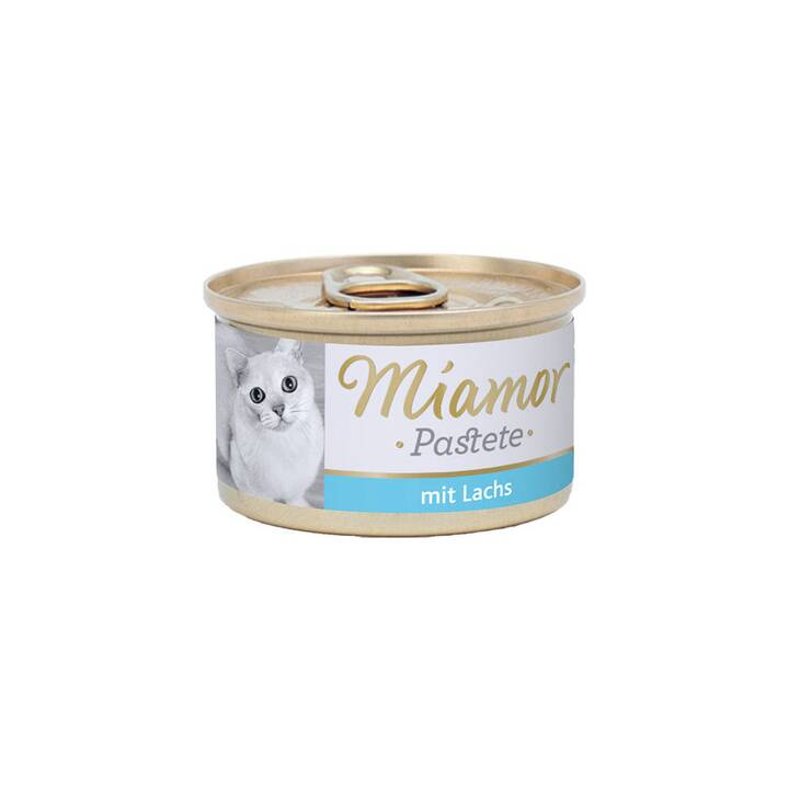 MIAMOR Pastete (Adulte, 85 g, Saumon)