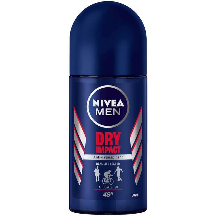 NIVEA Deo Roll-on Dry Impact  (50 ml, À bille)