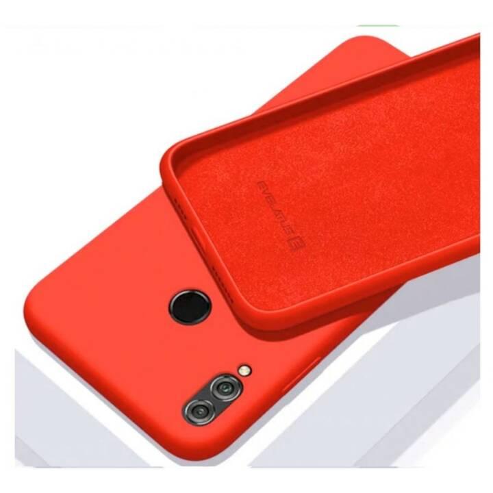 EVELATUS Softcase Soft Silicone (Mi A3, Rouge)