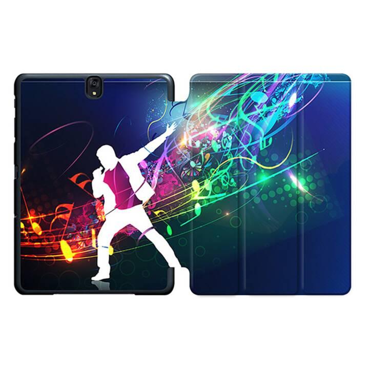 "EG MTT Tablet Case con coperchio pieghevole Smart per Samsung Galaxy Tab S3 9.7"" MTT - Musica"