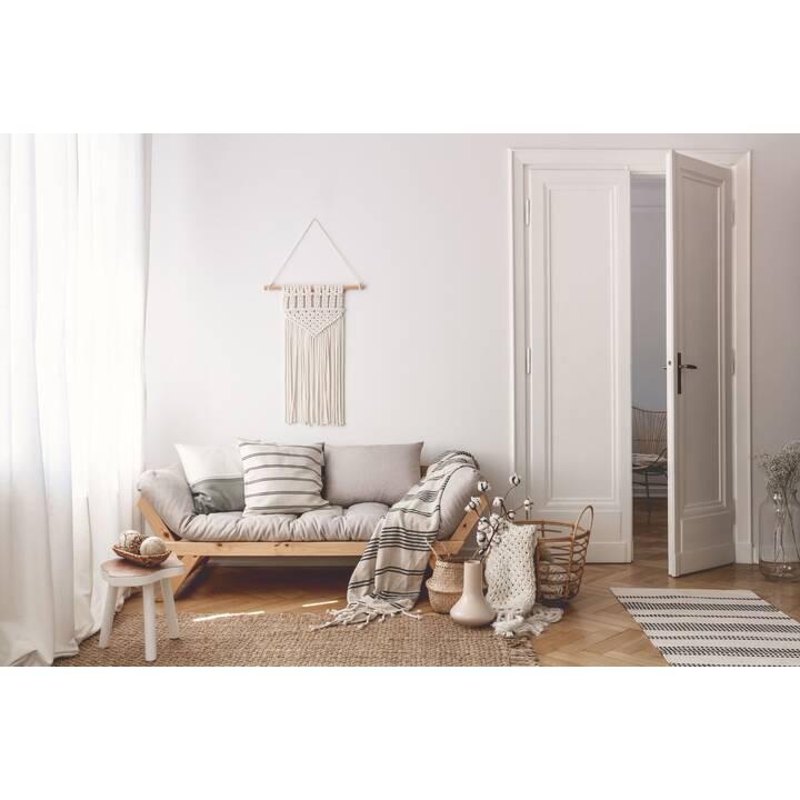 KARUP DESIGN Bebop Divano letto (Poliestere, Bianco, Grigio, 174 cm x 80 cm)