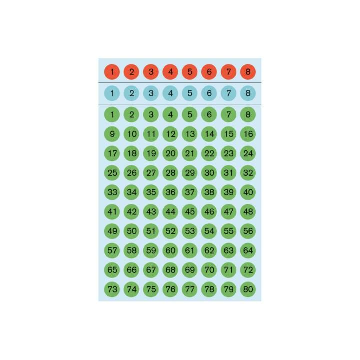 Etiquettes d'identification HERMA 1-160 6 pièces