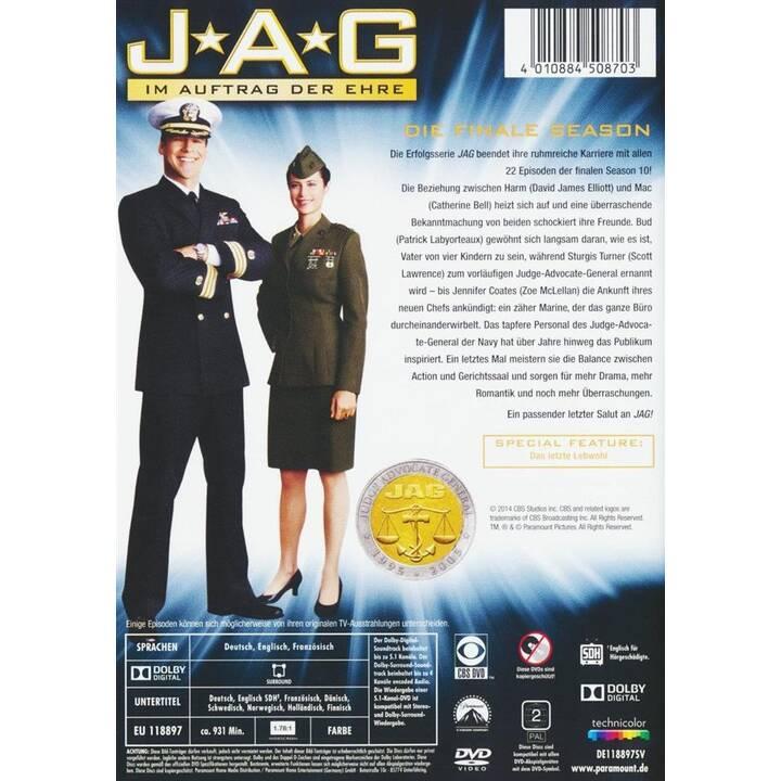 JAG - Im Auftrag der Ehre Saison 10 (DE, EN, FR)