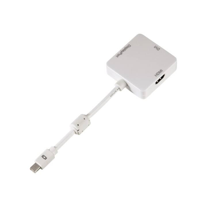 HAMA Adaptateur (DVI, Fiche Mini DisplayPort)