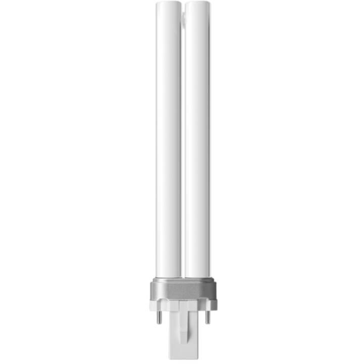 PHILIPS Lampe à économie d'énergie PL-S (G23, 600 lm, 9 W)