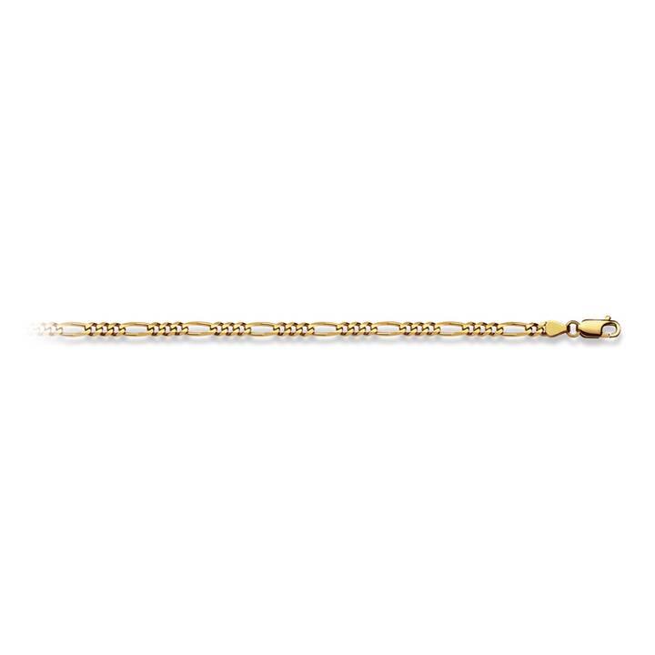 MUAU Collier Figaro (Ohne Stein, 60 cm)