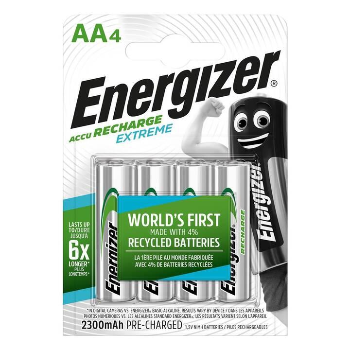 ENERGIZER Batterie (AA / Mignon / LR6, 4 pièce)