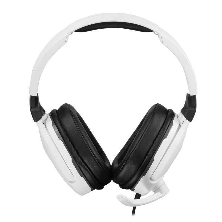 TURTLE BEACH Recon 200 (Over-Ear, Blanc)