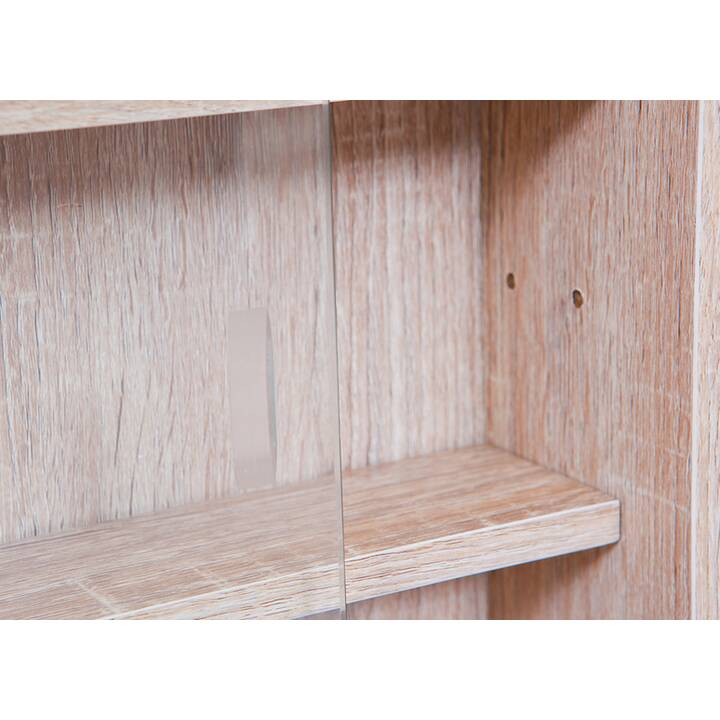 MUTONI DESIGN  Sonoma-Dekor Vetrinette (80 cm x 9.5 cm x 60 cm)