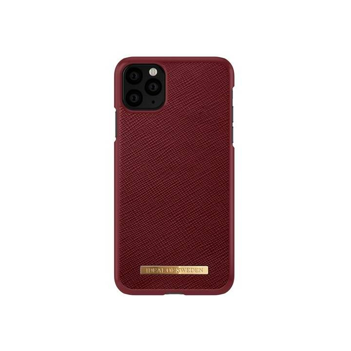IDEAL OF SWEDEN Backcover Saffiano burgundy (iPhone 11 Pro Max, Bordeaux)