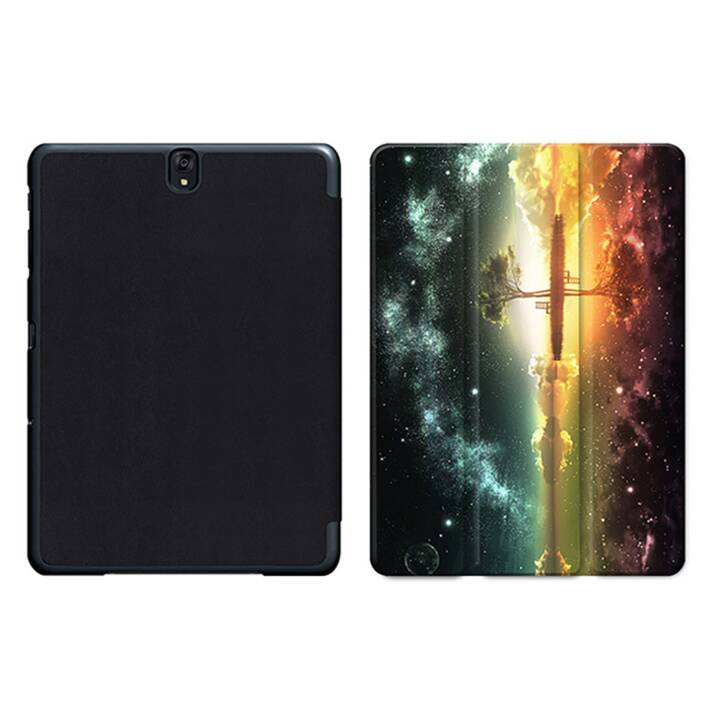"EG MTT Tablet Bag con coperchio pieghevole Smart per Samsung Galaxy Tab S3 9.7"" MTT - Sky"