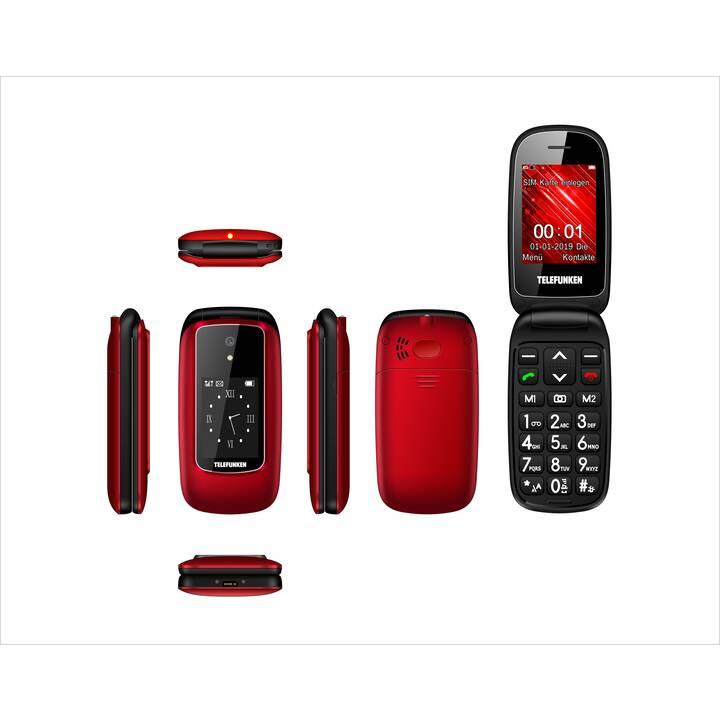 "TELEFUNKEN TM 350 IZY (2.4"", 1 GB, 0.3 MP, Rosso)"
