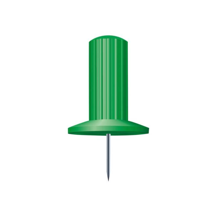 Aghi EXACOMPTA 7mm verde
