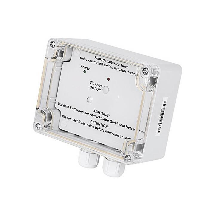 HOMEMATIC actionneur d'interrupteur radio pour montage en saillie 1 fois IP65