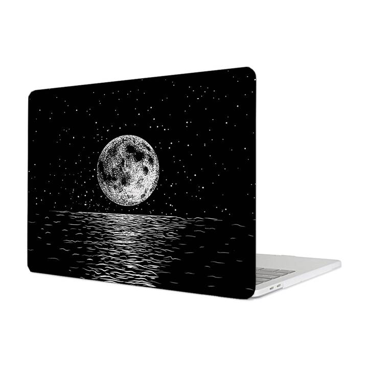 "EG MTT Étui pour Macbook Pro 13"" non Touchbar (2016 - 2018) - Cartoon Moon"