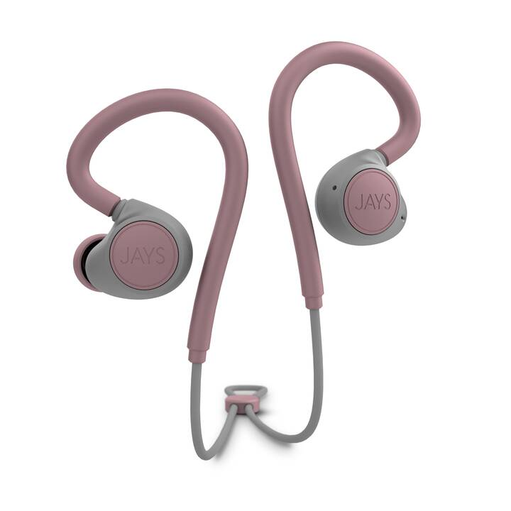 JAYS m-Six (In-Ear, Bluetooth 5.0, Rosa)