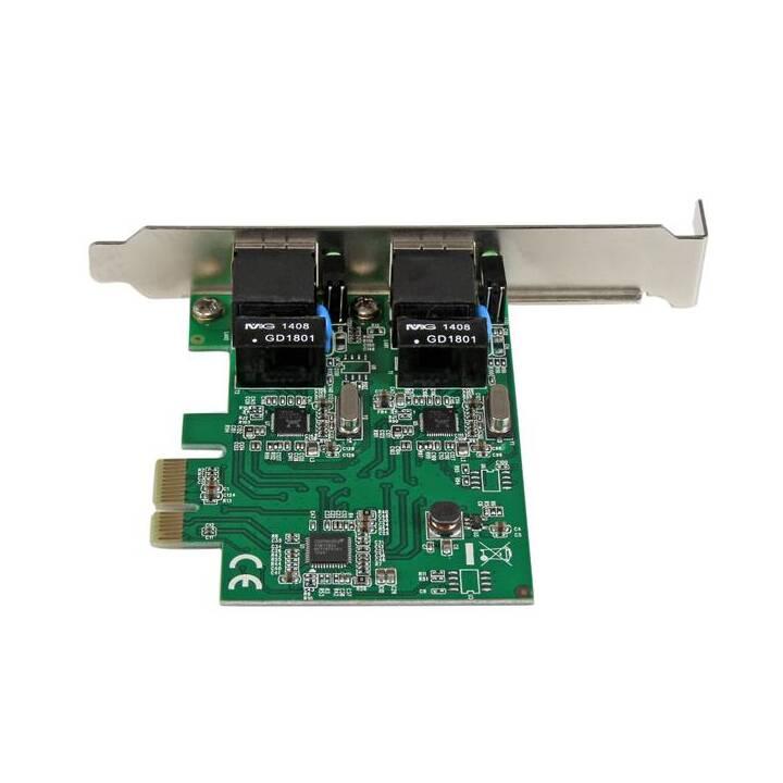 StarTech.com 2 Port Low Profile PCI Expr