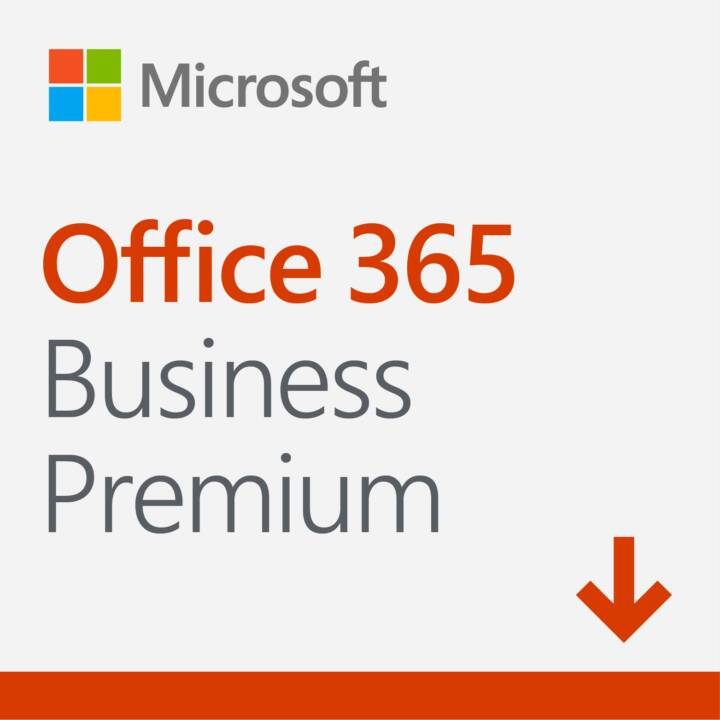 MICROSOFT Office 365 Business Premium (Licence, Allemand)